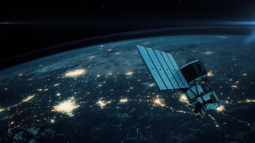 NASA ICON - The Ionospheric Connection Explorer. Highly realistic animation depicting the space agency's newest satellite launched in December 2017. 4K UHD. 16-bit color depth. Broadcast quality.    | Shutterstock HD Video #33430051