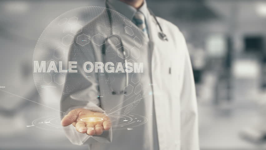 Header of male orgasm
