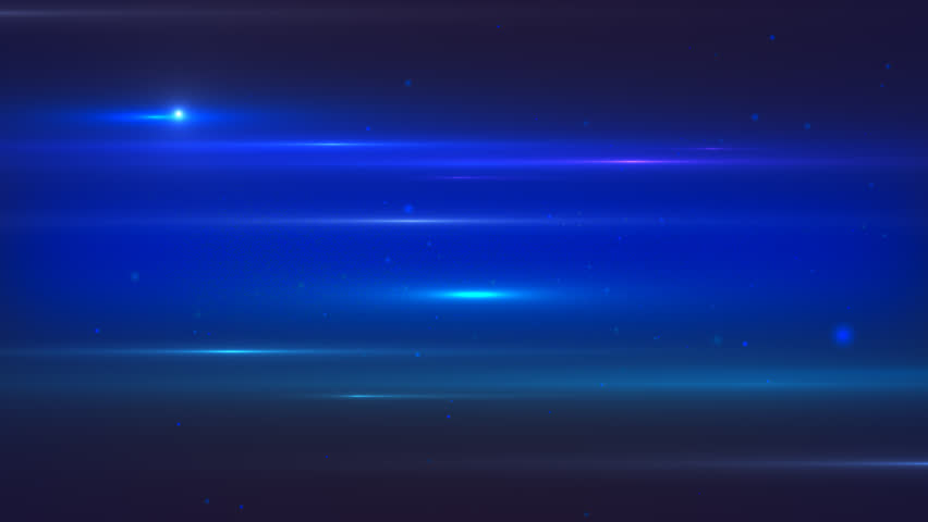Animated motion abstract background with star field and lens flares, dark blue colors | Shutterstock HD Video #33450421
