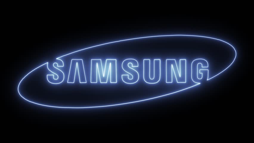 Samsung Logo with Neon Lights  Stock Footage Video (100% Royalty-free)  33505981 | Shutterstock
