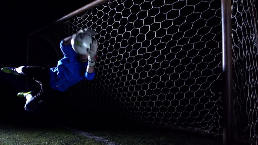 Goalkeeper - Super Slow Motion