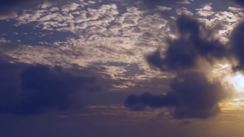 Storm clouds move, fly, fast motion timelapse background. 1920x1080 4K dark dramatic storm clouds time lapse. Grey, gray, blue, black clouds moving sky. Cloudy stormy dramatic rain weather. Storm FHD.