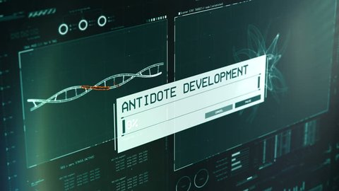 Antidote Creation Process On Lab Stock Footage Video (100