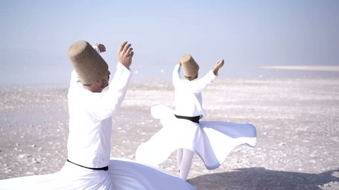 Whirling dervish,Salt Lake