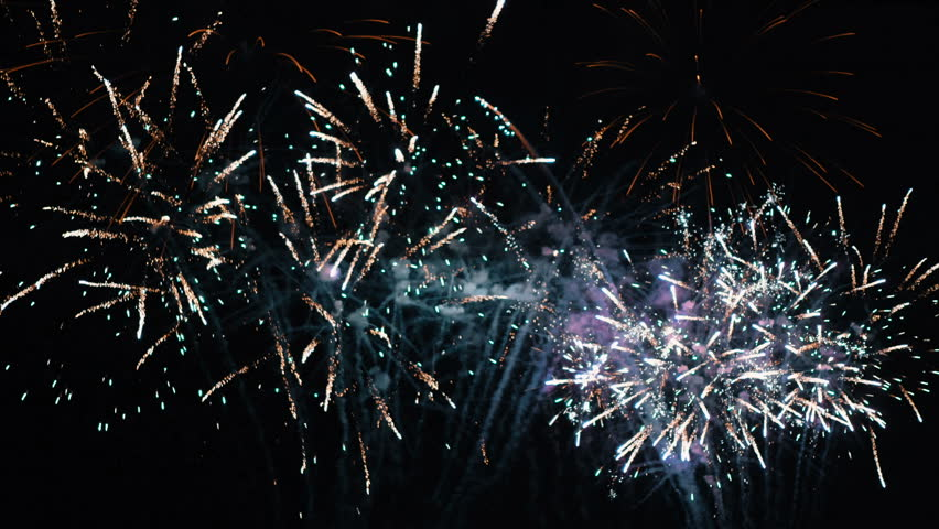 Beautiful Fireworks Display  | Shutterstock HD Video #33819361