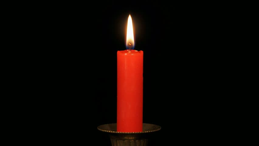 Image result for red candle burning