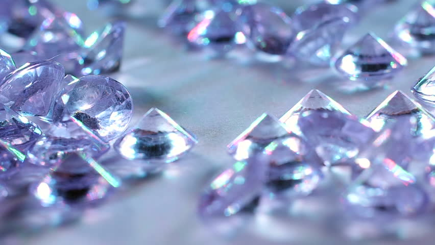 Amethyst. Precious Stones . Slow Motion   Shutterstock HD Video #34021771