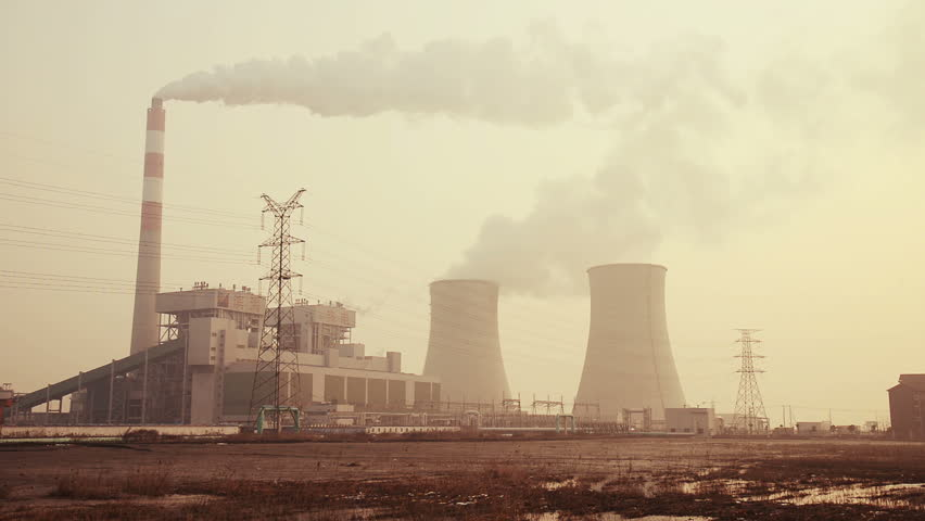 Shaoxing,China- Feb 10, 2013:  Binghai Power Station on Feb 10,2013 in