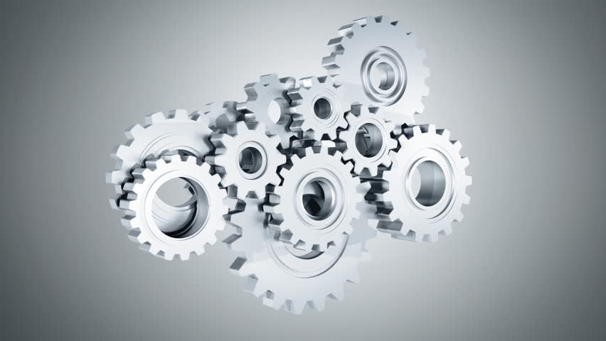 Connecting Gears | Shutterstock HD Video #3419291