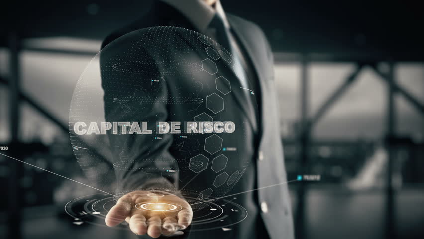 Capital de Risco with hologram businessman concept, in English Venture Capital | Shutterstock HD Video #34200949
