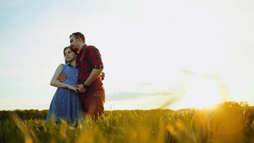 Low Angle Shot of Romantic Stock Footage Video (100% Royalty-free) 34243081  | Shutterstock