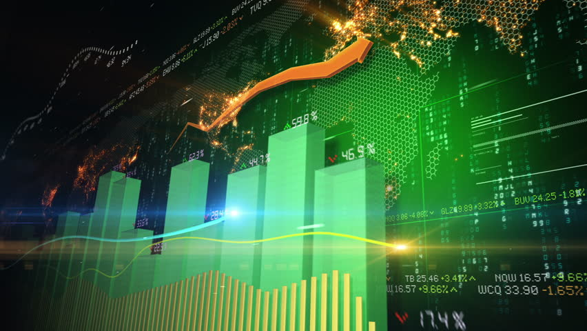 Stock market abstract animation   Shutterstock HD Video #3437249