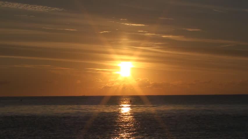 Sunrise over the Mediterranean sea, Spain | Shutterstock HD Video #3439511
