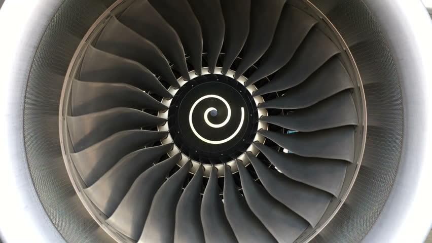 Jet turbine engine of aircraft,aviation industrial