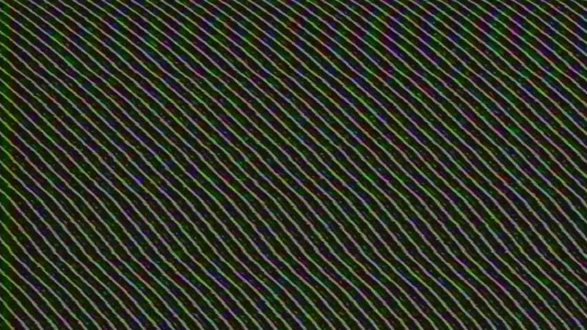 Analog Abstract Video Signal Noise FeedBack Manipulation | Shutterstock HD Video #34792651