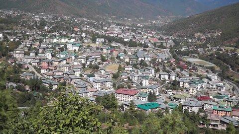 Thimphu - capital of Bhutan