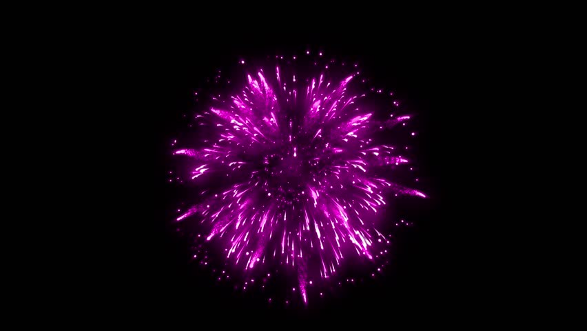 Super Firework Lilac Purple, Holliday, Celebration, New Year, The 4th of July, Christmas, Festival | Shutterstock HD Video #34981801