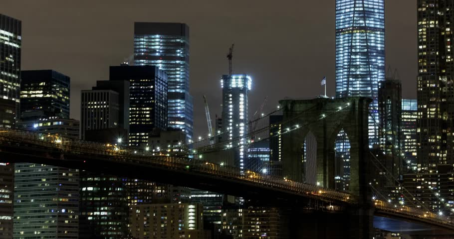New York City time lapse.   Shutterstock HD Video #34983973