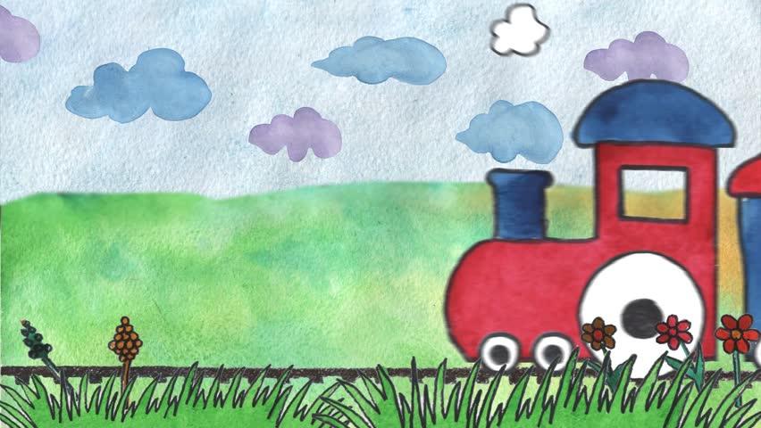 Animation for children's birthday design