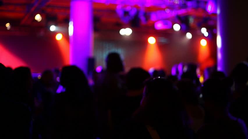 Defocused night life scene | Shutterstock HD Video #3518561
