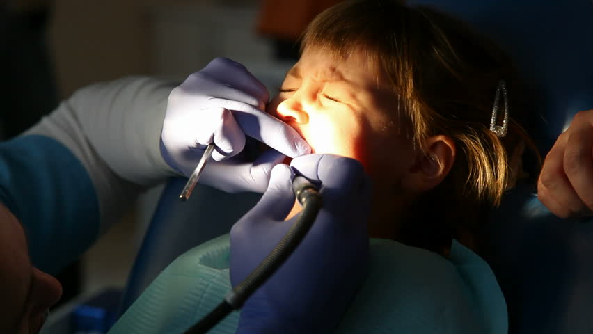 Pleasant Little Girl At The Dentist Stock Footage Video 100 Royalty Free 3519221 Shutterstock Beatyapartments Chair Design Images Beatyapartmentscom
