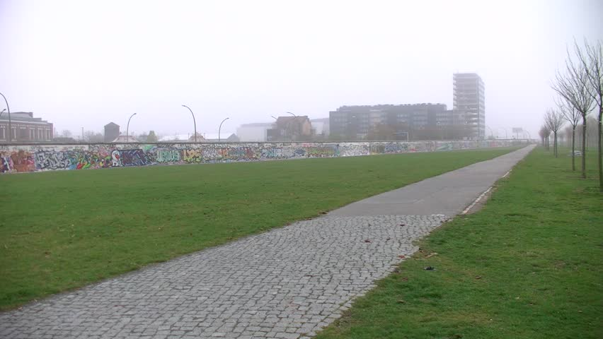 BERLIN,GERMANY- MARCH 2: a piece of the East Side Gallery (ex Berlin Wall) will be demolished to build luxury apartments. News which shocked public opinion on March 2, 2013 in Berlin-Germany.