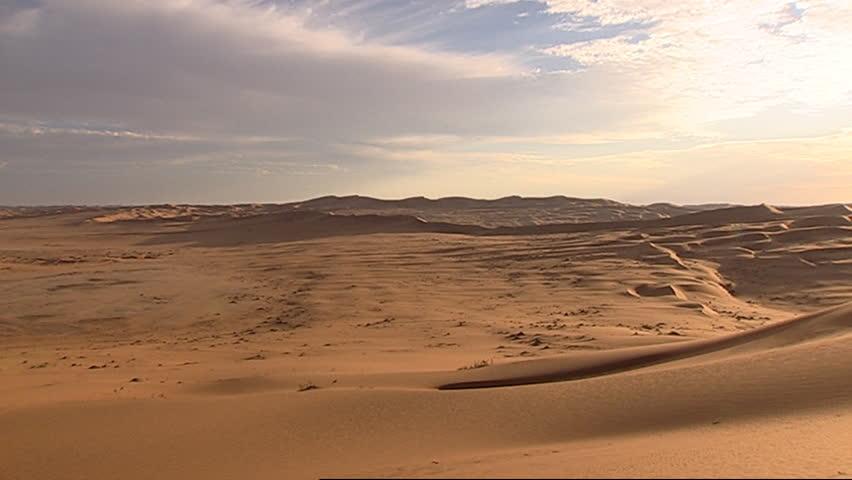 Namibian desert landscape #3557021