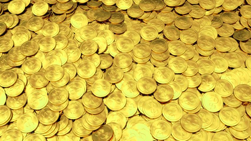Download Wallpaper 3840x2160 Gold, Bullion, coins, white ...
