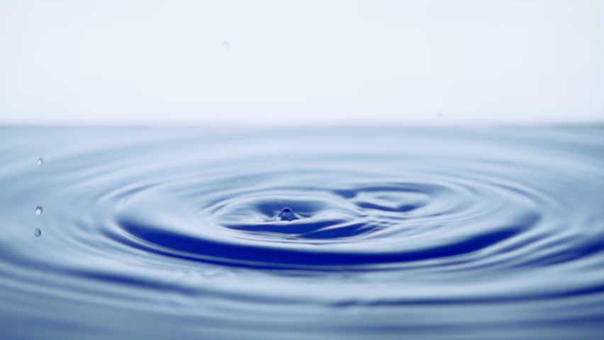 Slow motion water drops | Shutterstock HD Video #3570371