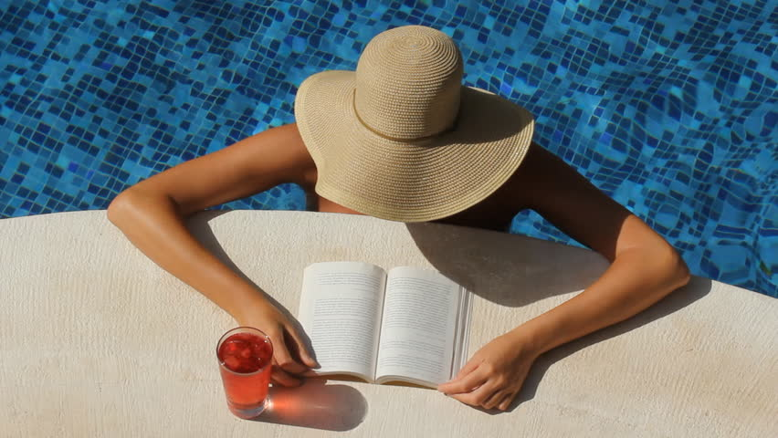 Woman with Wide Brimmed Hat Stock Footage Video (100% Royalty-free ... 51895a231a7