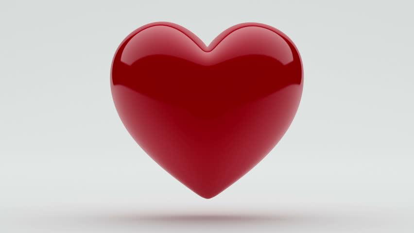 Loop Shiny Heart  | Shutterstock HD Video #3580007