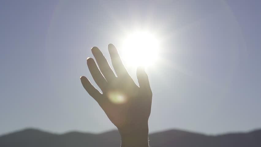 SLOW MOTION: waving hand | Shutterstock HD Video #3586451