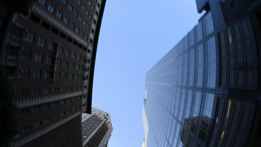 POV of Buildings is Los Angeles Fisheye
