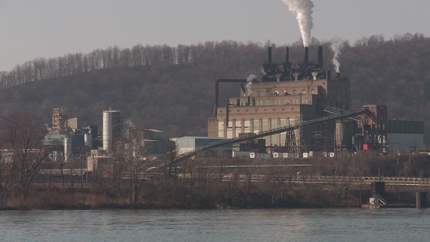 The Nova Chemicals plant on the Ohio River near Shippingport, Pennsylvania.