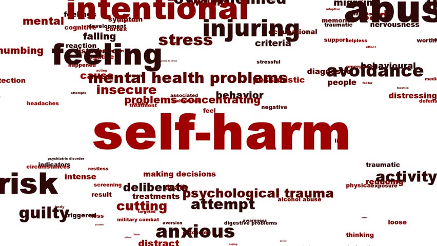 Header of Self-harm
