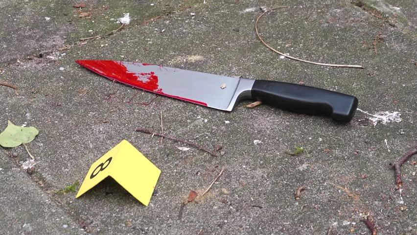 Resultado de imagem para knife of the crime blood