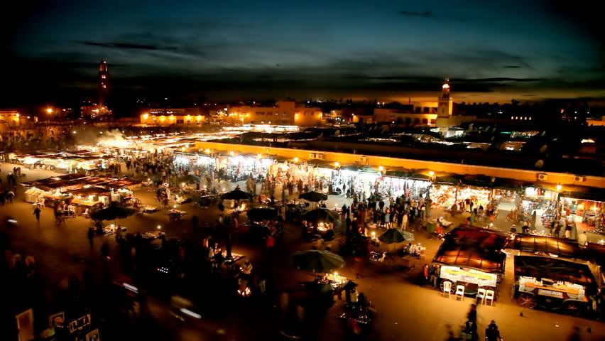 El Jemaa el fna sqare. Marrakesh, Morocco
