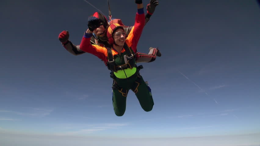 Skydiving video. Tandem. #3793061