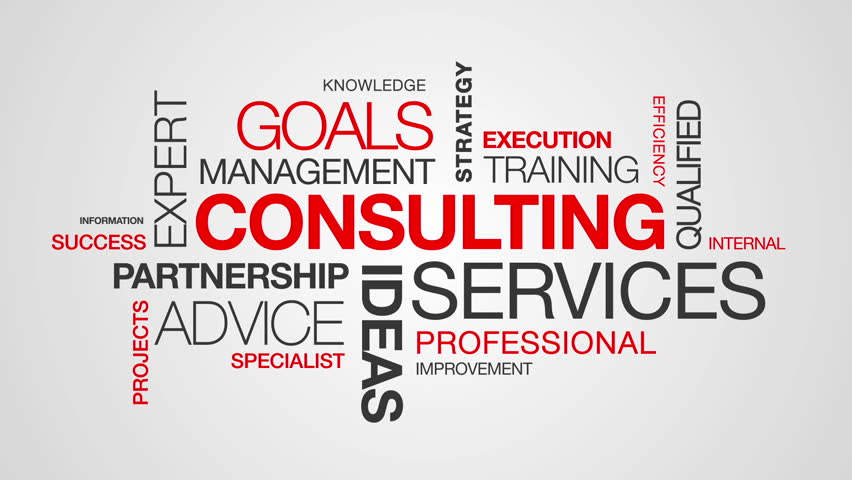 Consulting Word Cloud Animation   Shutterstock HD Video #3793682