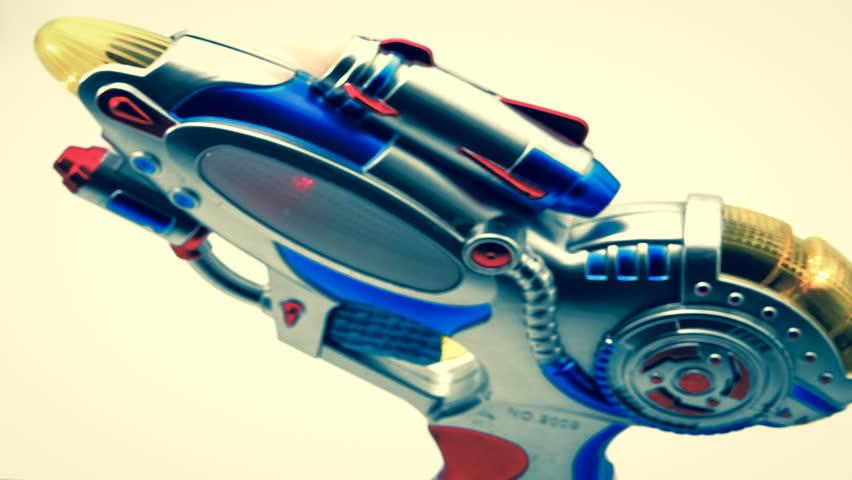 retro ray gun toy