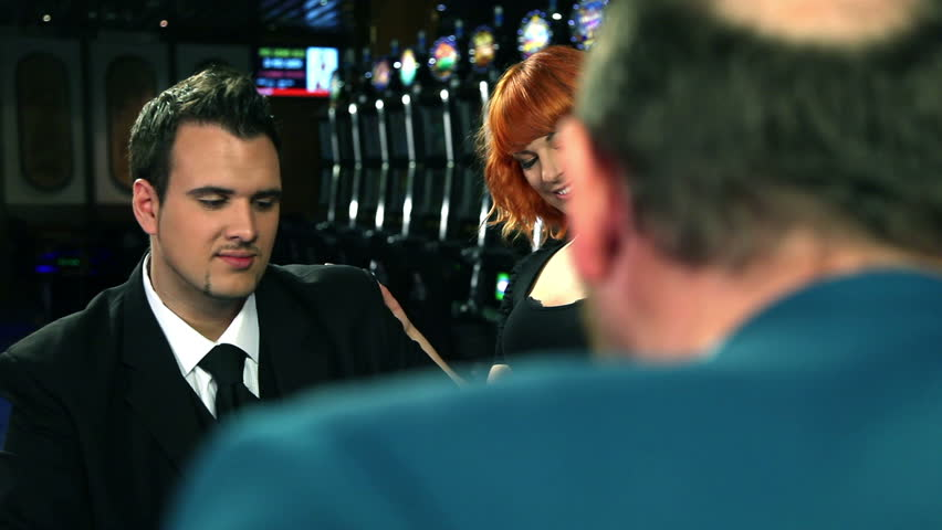 Flirting and playing roulette in casino | Shutterstock HD Video #3859571