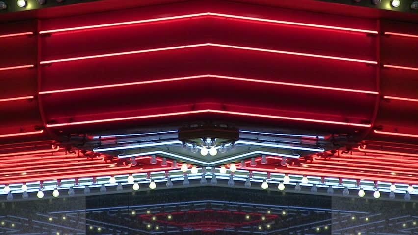 Vegas neon lights