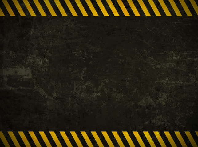 Horizontal Caution Wall Background Loop Stock Footage