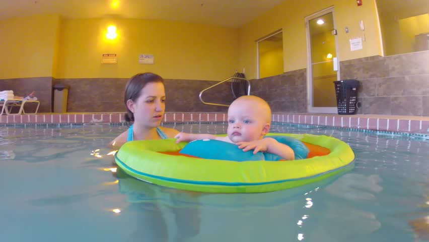 Baby In Bath Tub On Green Background Stock Footage Video 11465942 ...