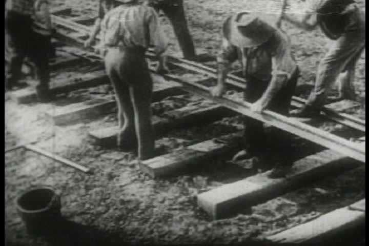 1940s - Archival film describing the impact of the telegraph on the America.