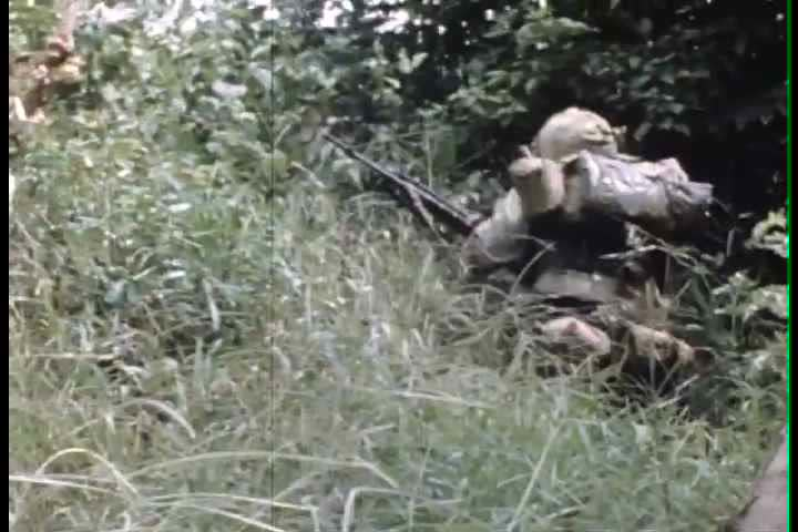 1960s - On the ground troop combat footage in Vietnam War in 196.