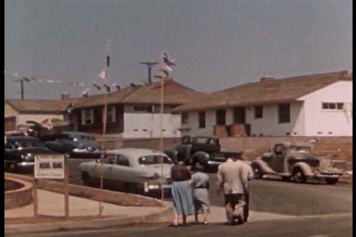 1950s Homes 1950s - all kinds of asbestos tract homes are built around america