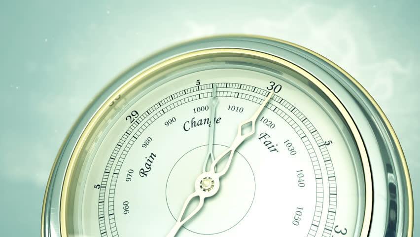 Header of barometer