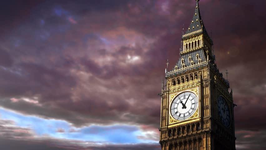 Big Ben. Time lapse | Shutterstock HD Video #4126630