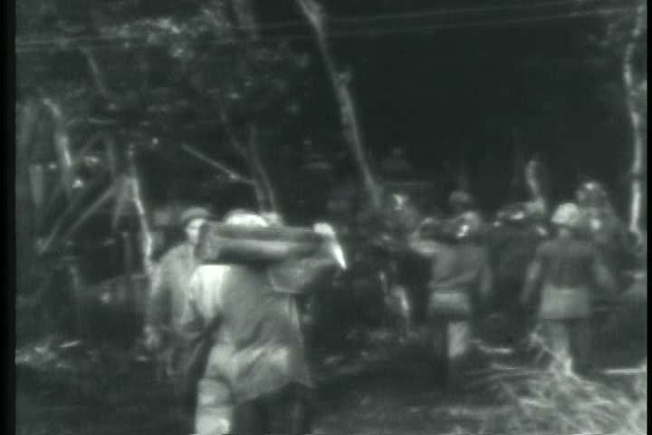 1940s - A 1940s film detailing the war in the pacific during World War 2
